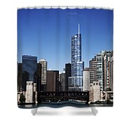 From The River Shower Curtain