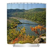 From The Top Shower Curtain
