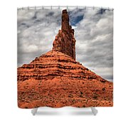 From The Valley To The Sky Shower Curtain