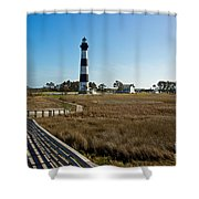 From The Waters Edge Shower Curtain