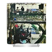 From Venice With Love Shower Curtain