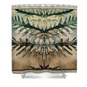 Frond Embrace Shower Curtain