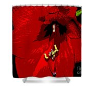 Front And Center Shower Curtain