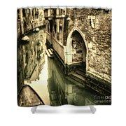 Front Door In Venice Shower Curtain