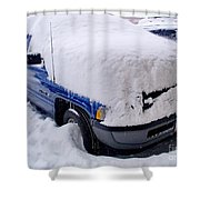 Front Loaded Shower Curtain