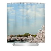 Frontier Airlines Shower Curtain