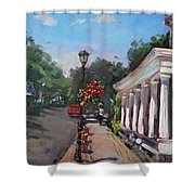Frontier House In Lewiston  Shower Curtain