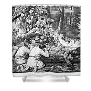 Frontiersmen, 1862 Shower Curtain