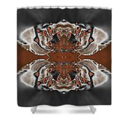 Frost And Woodsmoke 3 Shower Curtain