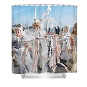 Frost Fair Parade At St Leonards Shower Curtain
