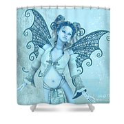 Frost Fairy Shower Curtain