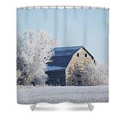 Frost Farm Shower Curtain