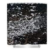 Frost Flakes On Ice - 30 Shower Curtain