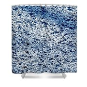 Frost Flakes On Ice - 32 Shower Curtain