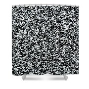 Frost Flakes On Ice - 35 Shower Curtain