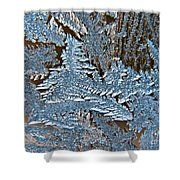 Frost Macro Shower Curtain