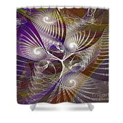 Frost Spirit - Square Version Shower Curtain