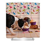 Frosting Feast Shower Curtain