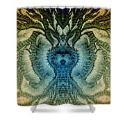 Frostroots 3 Shower Curtain