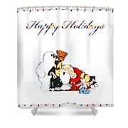 Frosty Shower Curtain