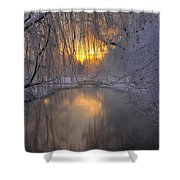 Frosty Morn 2 Shower Curtain