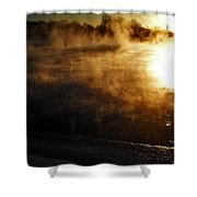 Frosty Morning ... Shower Curtain