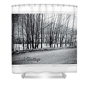 Frosty Morning At Dalmally  Shower Curtain