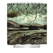 Frosty Morning At Glen'orchey   Shower Curtain