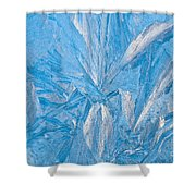 Frosty Window Art Shower Curtain
