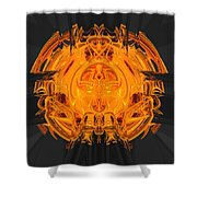 Froth Panel 15 Shower Curtain