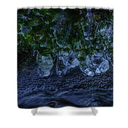 Icicle Garden  Shower Curtain
