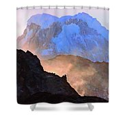 Frozen - Torres Del Paine National Park Shower Curtain
