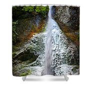 Frozen Marymere Falls Shower Curtain