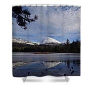 Frozen Reflections Shower Curtain