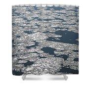 Frozen River Shower Curtain
