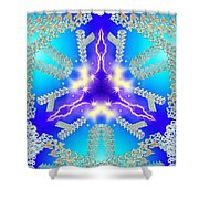 Frozen Time Shower Curtain