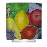 Fruit Bowl Shower Curtain