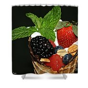 Fruit Cone Shower Curtain