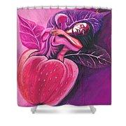 Fruit Of The Garden Of Eden Shower Curtain