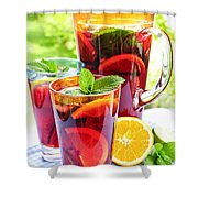 Fruit Punch  Shower Curtain by Elena Elisseeva