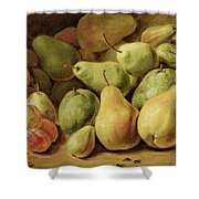 Fruit Still Life Shower Curtain
