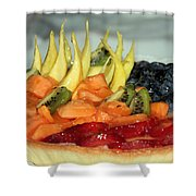 Fruit Tart Shower Curtain