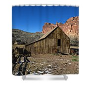 Fruita Horse Stable Capitol Reef National Park Utah Shower Curtain