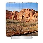 Fruita Utah Panorama 002 Shower Curtain