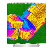 Fruitilicious - Banana - Photopower 1815 Shower Curtain