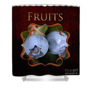 Fruits Gallery Shower Curtain