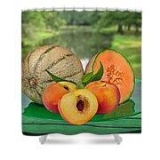 Fruits-garden Shower Curtain
