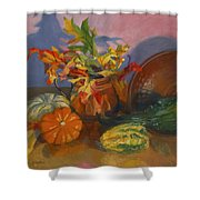 Fruits Of Fall Shower Curtain