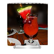 Fruity Coctail Shower Curtain