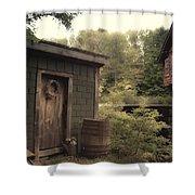 Frye's Measure Mill Shower Curtain by Joann Vitali